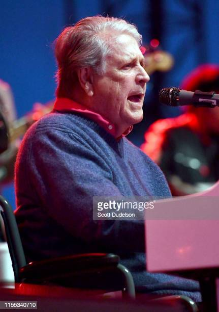 Singer Brian Wilson of the Beach Boys performs onstage during Day 2 of the BeachLife Festival at Redondo Beach on May 04 2019 in Redondo Beach...