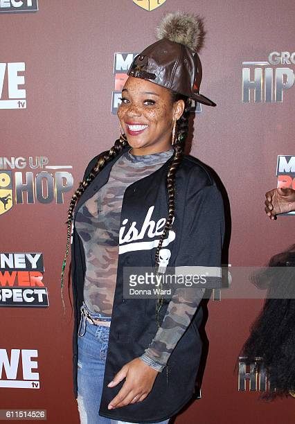 Singer Briana Latrise attends the Growing Up Hip Hop Season 2 Premiere at The Paley Center for Media on September 29 2016 in New York City