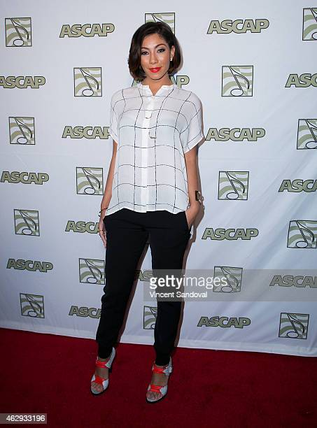 Singer Bridget Kelly attends ASCAP presents the 2015 GRAMMY Nominees brunch at SLS Hotel on February 7 2015 in Los Angeles California