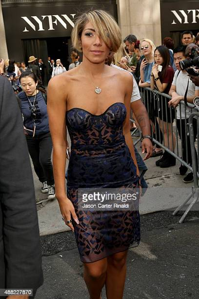 Singer Bridget Kelly attends Lexus arrivals at Skylight at Moynihan Station during New York Fashion Week The Shows on September 14 2015 in New York...