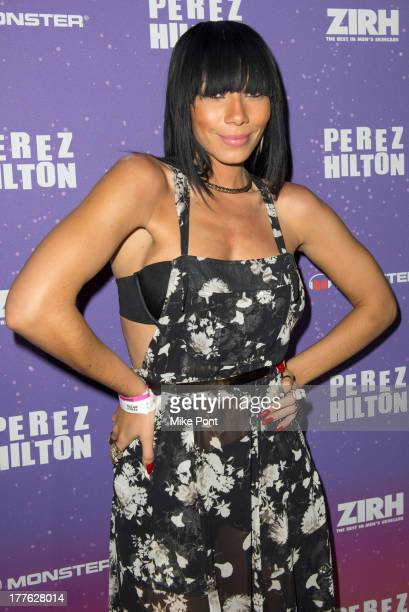 Singer Bridget Kelly attends Perez Hilton's One Night In Brooklyn at Music Hall of Williamsburg on August 24 2013 in New York City