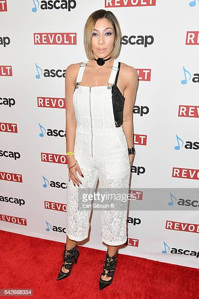 Singer Bridget Kelly attends the 2016 ASCAP Rhythm Soul Awards at the Beverly Wilshire Four Seasons Hotel on June 23 2016 in Beverly Hills California