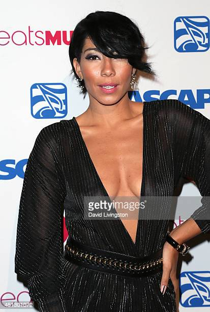 Singer Bridget Kelly attends the ASCAP 27th Annual Rhythm Soul Music Awards at The Beverly Hilton Hotel on June 26 2014 in Beverly Hills California