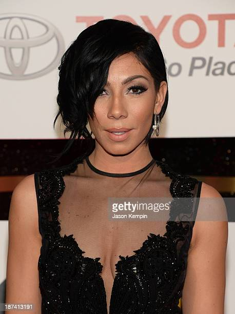 Singer Bridget Kelly attends the Soul Train Awards 2013 at the Orleans Arena on November 8 2013 in Las Vegas Nevada