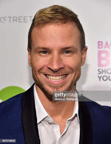 Singer Briean Littrell attends the premiere of Gravitas Ventures' Backstreet Boys Show 'Em What You're Made Of at on January 29 2015 in Hollywood...