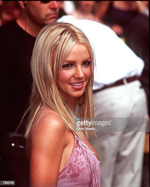 Singer Britney Spears arrives at the '2000 Teen Choice Awards' in Santa Monica CA August 6 2000