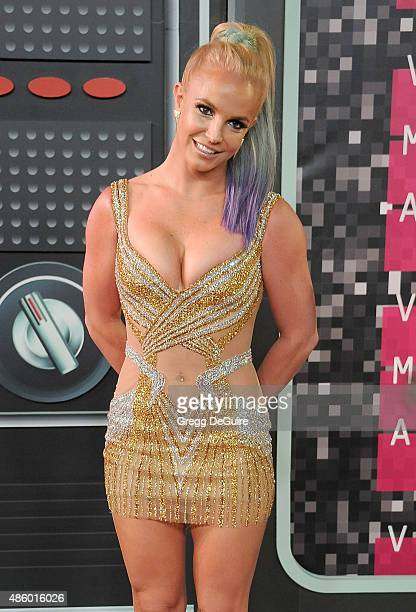 Singer Britney Spears arrives at the 2015 MTV Video Music Awards at Microsoft Theater on August 30 2015 in Los Angeles California