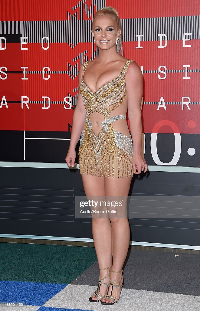Singer Britney Spears arrives at the 2015 MTV Video Music Awards at Microsoft Theater on August 30, 2015 in Los Angeles, California.