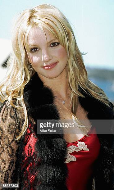 Singer Britney Spears attends a photo call for her new film 'Crossroads' at the Park Hyatt Hotel on April 18 2002 in Sydney Australia