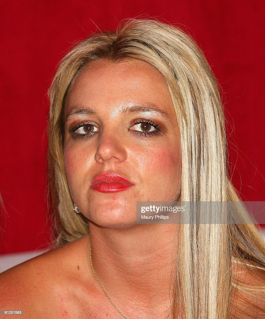 Singer Britney Spears attends Christian Audigier's 50th birthday bash on May 23, 2008 at the Peterson Automotive Museum in Los Angeles, California.