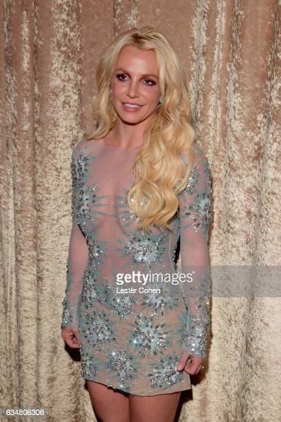 Singer Britney Spears attends PreGRAMMY Gala and Salute to Industry Icons Honoring Debra Lee at The Beverly Hilton on February 11 2017 in Los Angeles...