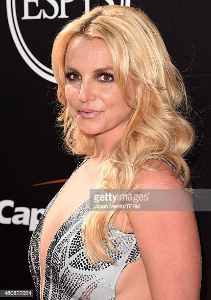 Singer Britney Spears attends The 2015 ESPYS at Microsoft Theater on July 15, 2015 in Los Angeles, California.