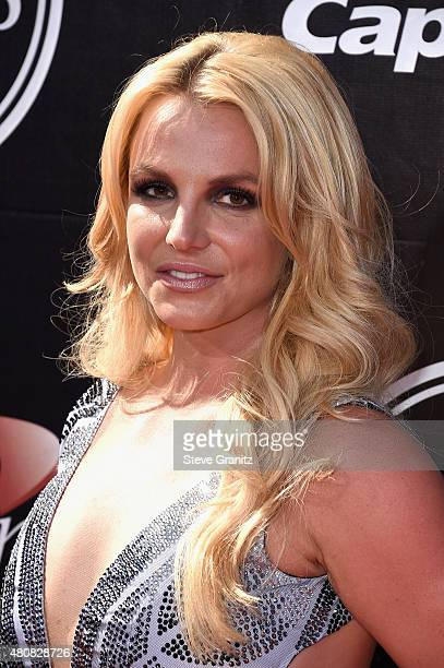 Singer Britney Spears attends The 2015 ESPYS at Microsoft Theater on July 15 2015 in Los Angeles California