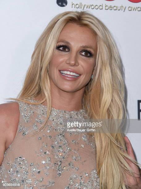 Singer Britney Spears attends the 4th Hollywood Beauty Awards at Avalon Hollywood on February 25 2018 in Los Angeles California
