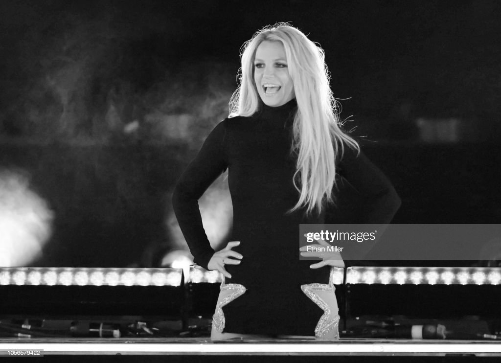 Britney Spears Announces New Las Vegas Residency At Park Theater : News Photo