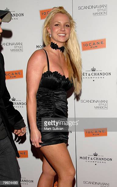 Singer Britney Spears attends the Scandinavian Mansion of Style held on December 1 2007 in Los Angeles California