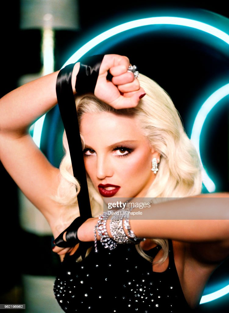 Singer Britney Spears is photographed for Showtime on February 2, 2004 in New York City.