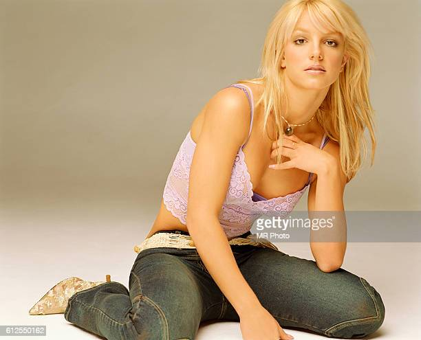 Singer Britney Spears is photographed for Rolling Stone Magazine in 2003