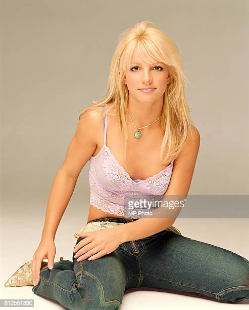 Singer Britney Spears is photographed for YM Magazine in 2001