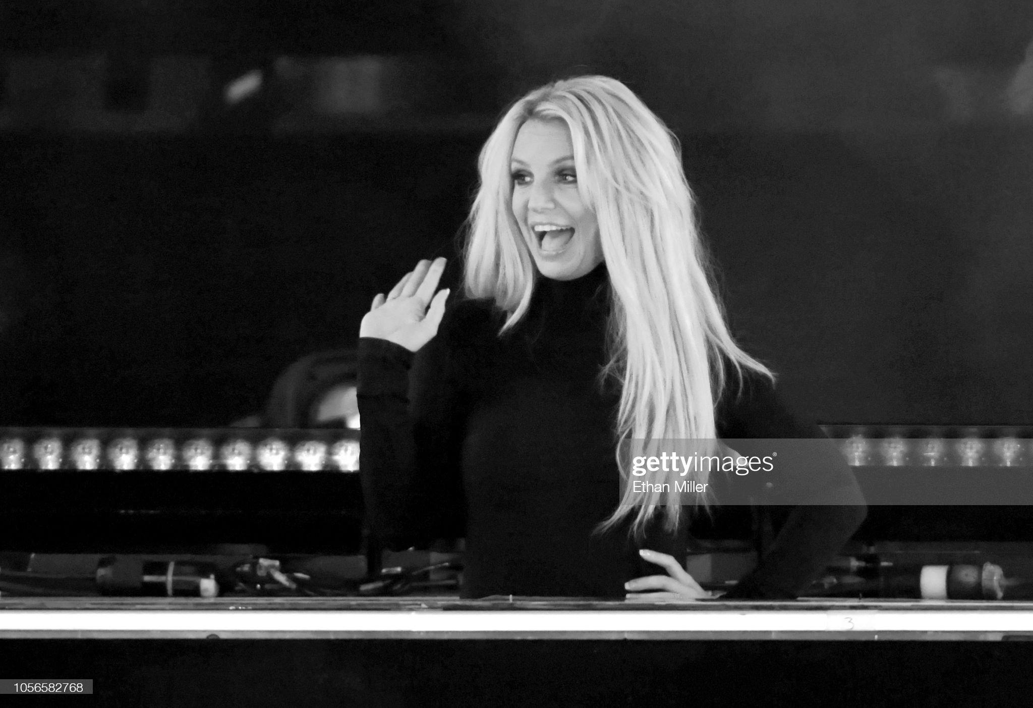 Britney Spears Announces New Las Vegas Residency At Park Theater : Foto jornalística
