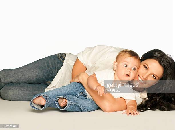 Singer Britney Spears with her son Sean Preston are photographed for People Magazine on August 14 2006 PUBLISHED IMAGE