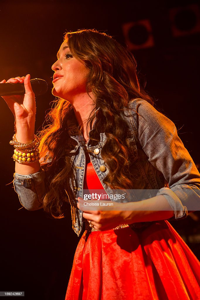 Singer Britt Nicole performs at The Roxy Theatre on January 9, 2013 in West Hollywood, California.