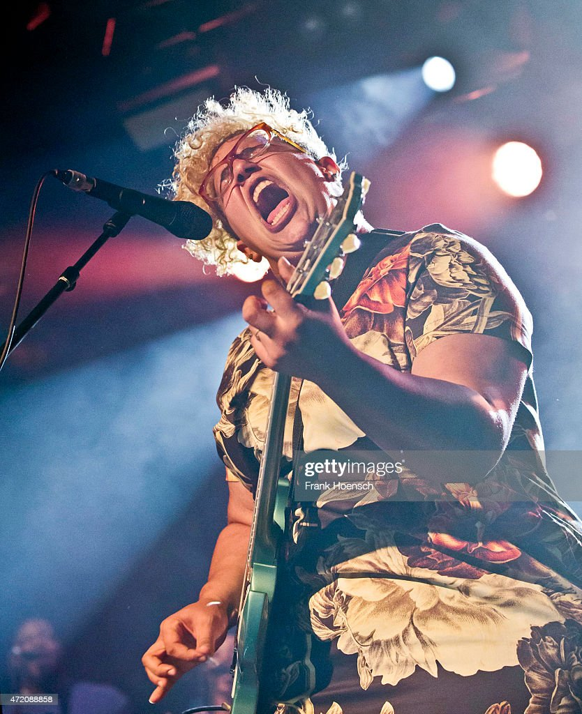 Singer Brittany Howard of the American band Alabama Shakes performs live during a concert at the Astra on May 3, 2015 in Berlin, Germany.