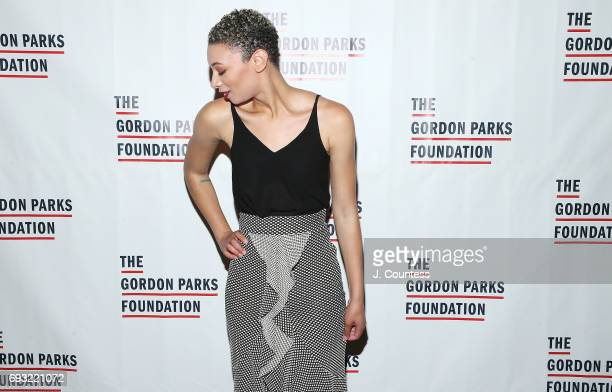 Singer Brittni Jessie attends the 2017 Gordon Parks Foundation Awards Gala at Cipriani 42nd Street on June 6 2017 in New York City