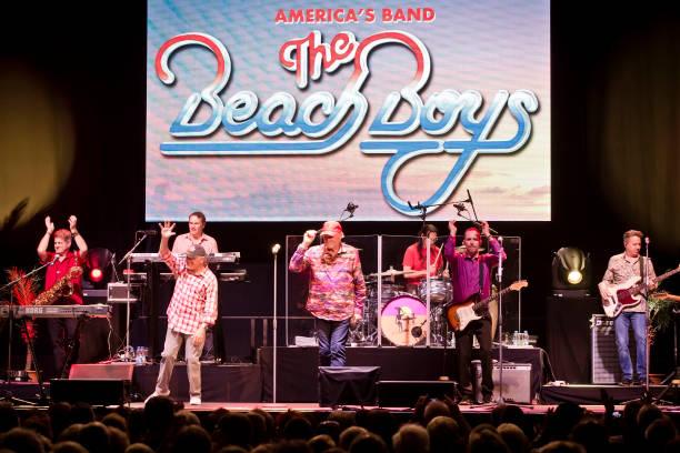 DEU: The Beach Boys Perform In Berlin
