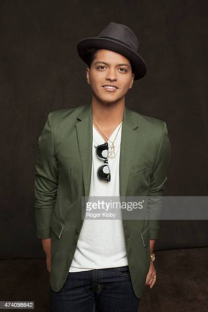 Singer Bruno Mars is photographed for Forbes Magazine on May 2 2011 in New York City
