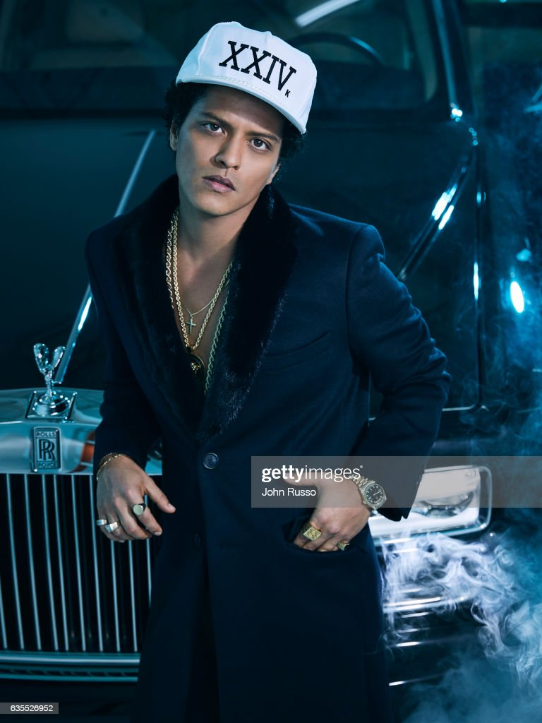 Singer Bruno Mars is photographed for Latina Magazine on October 21, 2016 in Los Angeles, California.