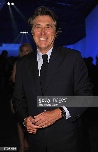 Singer Bryan Ferry attends the IWC Schaffhausen Top Gun Gala Event during the 22nd SIHH High Jewellery Fair at the Palexpo Exhibition Hall on January...