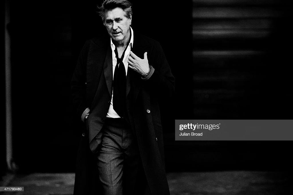 Bryan Ferry, L'Officiel Hommes magazine France, March 1, 2015