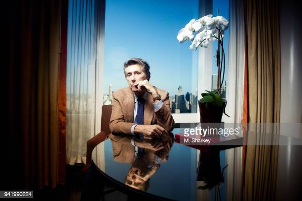 Singer Bryan Ferry is photographed for Out Magazine on October 6 2014 in New York City PUBLISHED IMAGE