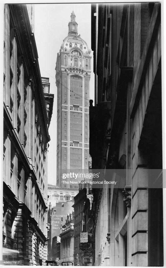 Singer Building, 149 Broadway at Liberty Street, New York, New York, 1895.