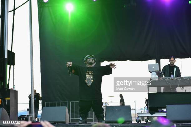 Singer Bushwick Bill of the Geto Boys performs on stage at the Growlers 6 festival at the LA Waterfront on October 29 2017 in San Pedro California