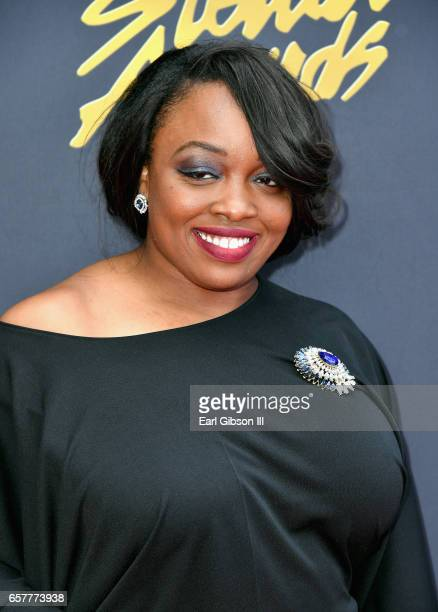 Singer C Ashley Brown- Lawrence arrives at the 32nd annual Stellar Gospel Music Awards at the Orleans Arena on March 25, 2017 in Las Vegas, Nevada.