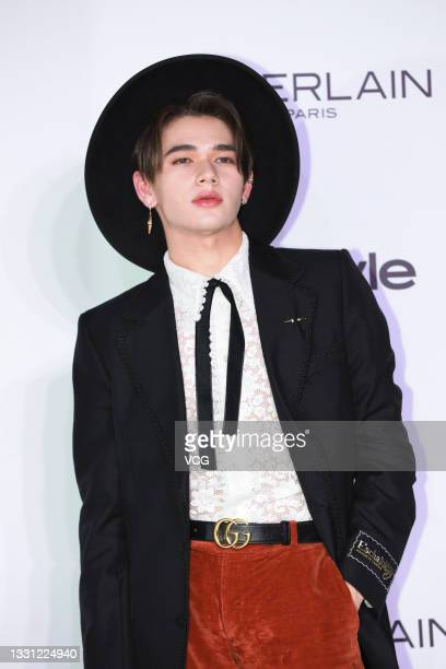 Singer Caelan Moriarty attends InStyle Icon Awards 2021 on July 28, 2021 in Shanghai, China.