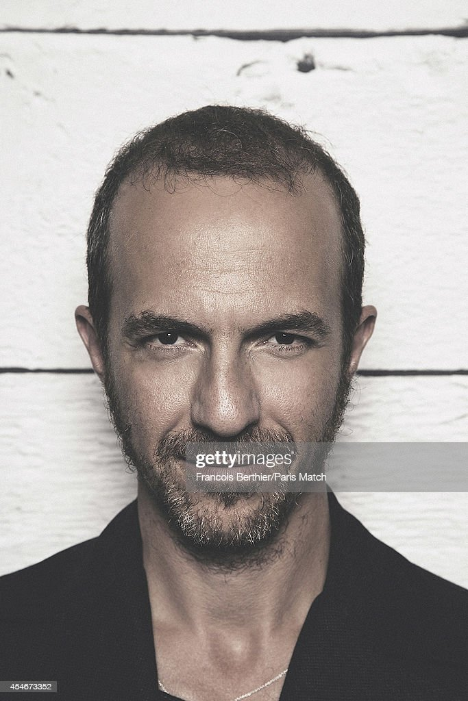Singer Calogero is photographed for Paris Match on August 20, 2014 in Paris, France.