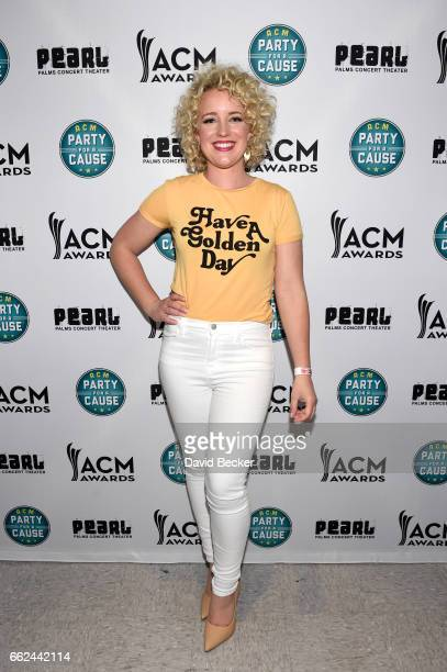 Singer Cam at the ACM Party For A Cause Songwriter Showcase on March 31 2017 in Las Vegas Nevada