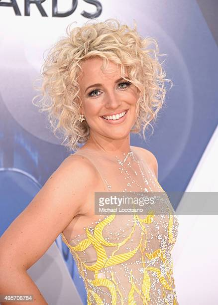 Singer Cam attends the 49th annual CMA Awards at the Bridgestone Arena on November 4 2015 in Nashville Tennessee