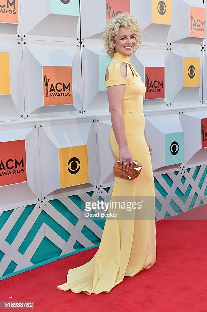 Singer Cam attends the 51st Academy of Country Music Awards at MGM Grand Garden Arena on April 3 2016 in Las Vegas Nevada