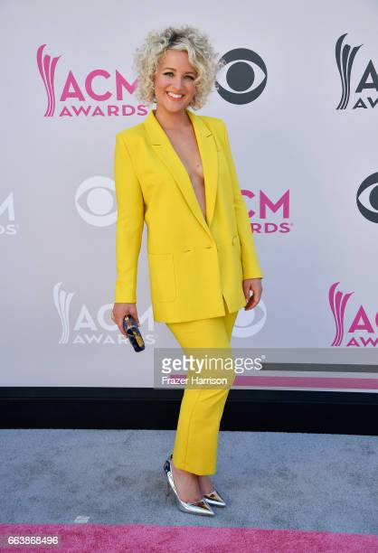 Singer CAM attends the 52nd Academy Of Country Music Awards at Toshiba Plaza on April 2 2017 in Las Vegas Nevada