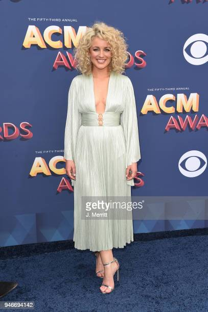 Singer Cam attends the 53rd Academy of Country Music Awards at the MGM Grand Garden Arena on April 15 2018 in Las Vegas Nevada