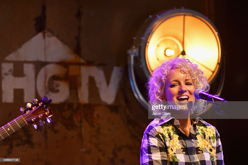 Singer Cam performs on stage at the HGTV Lodge at CMA Music Fest on June 9, 2016 in Nashville, Tennessee.
