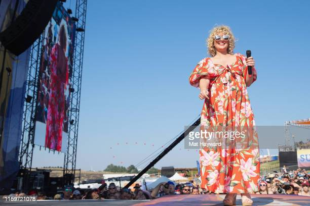 Singer Cam performs on stage during the Watershed country music festival at the Gorge Amphitheatre on August 2 2019 in George Washington
