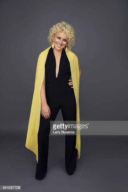 Singer Cam poses for a portrait in the 2016 CMT Music Awards portrait studio at Bridgestone Arena on June 8 2016 in Nashville Tennessee