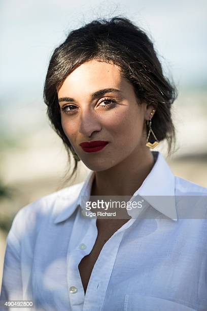 Singer Camelia Jordana is photographed for Gala on August 31, 2015 in Angouleme, France.