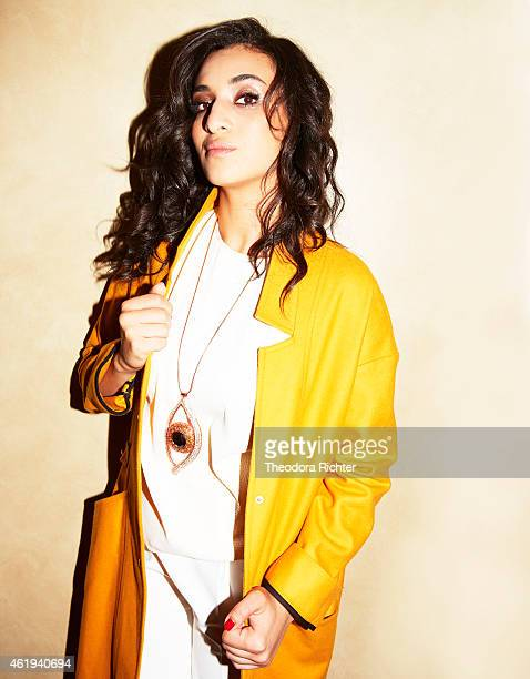 Singer Camelia Jordana is photographed for Grazia on August 28, 2014 in Paris, France.