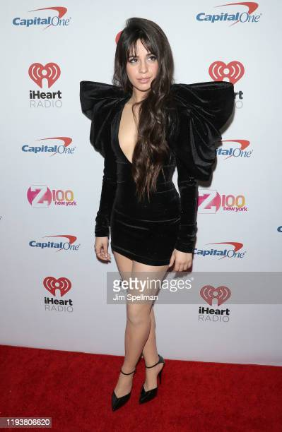 Singer Camila Cabello arrives at iHeartRadio's Z100 Jingle Ball 2019 at Madison Square Garden on December 13, 2019 in New York City.